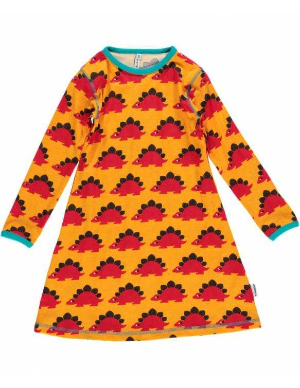 Vestido Orgánico MAXOMORRA - Dinosaurios