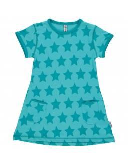 Vestido Algodón Orgánico MAXOMORRA - Estrellas