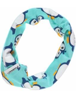 Braga para el Cuello de algodón orgánico MAXOMORRA - Pingüinos