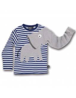 camiseta-algodon-organico-con-elefante-navy-ubang