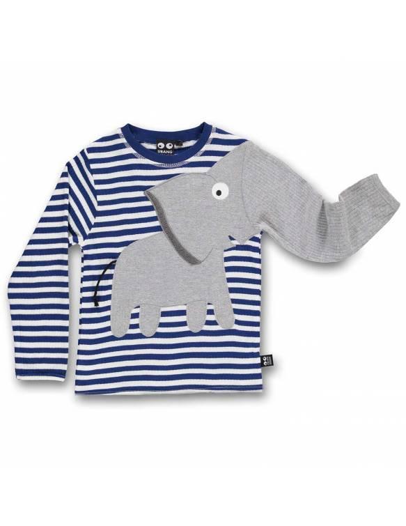camiseta-bebe-algodon-organico-de-elefante-navy-ubang