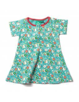 Vestido de Algodón Orgánico LITTLE GREEN RADICALS - Primavera