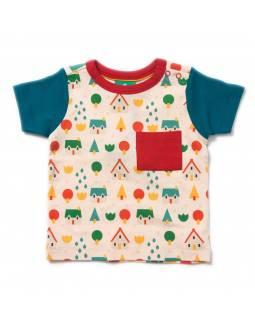 Camiseta de Algodón Orgánico LITTLE GREEN RADICALS - En la Aldea