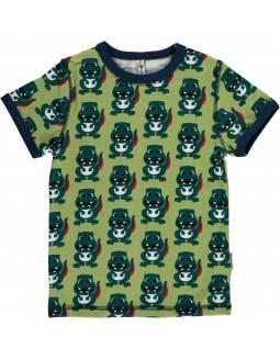 Camiseta de Algodón Orgánico MAXOMORRA - Dino