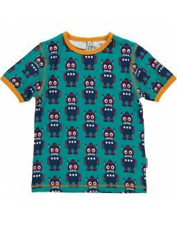 Camiseta de Algodón Orgánico MAXOMORRA - Robot