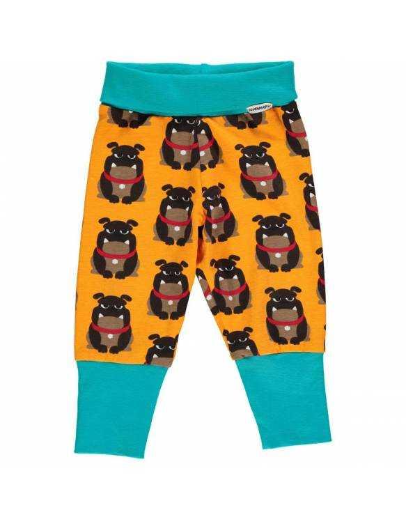 Pantalón Orgánico MAXOMORRA - Bulldog
