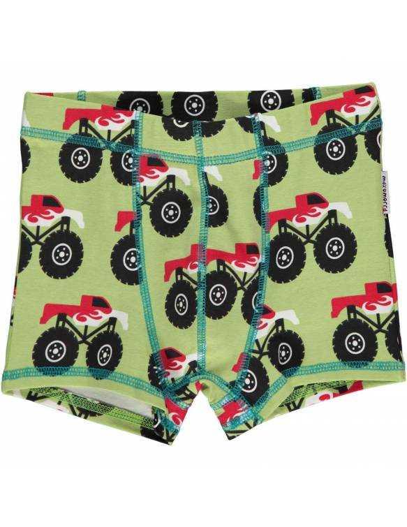 Calzoncillos de algodón orgánico MAXOMORRA - Súper Camión