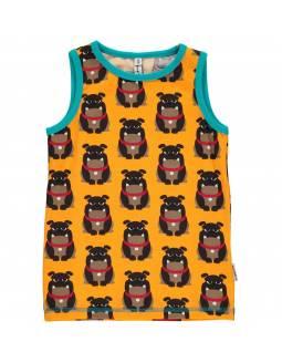 Camiseta Orgánica de Tirantes MAXOMORRA - Bulldog