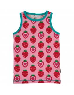 Camiseta Orgánica de Tirantes MAXOMORRA - Fresas