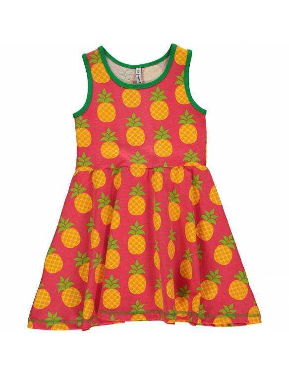 Vestido Orgánico con Vuelo MAXOMORRA - Piñas