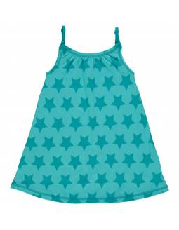 Vestido Orgánico de Tirantes MAXOMORRA - Estrellas