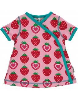 Vestido Orgánico Cruzado MAXOMORRA - Fresas