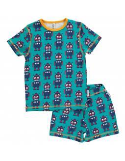 Pijama de algodón orgánico MAXOMORRA - Robot
