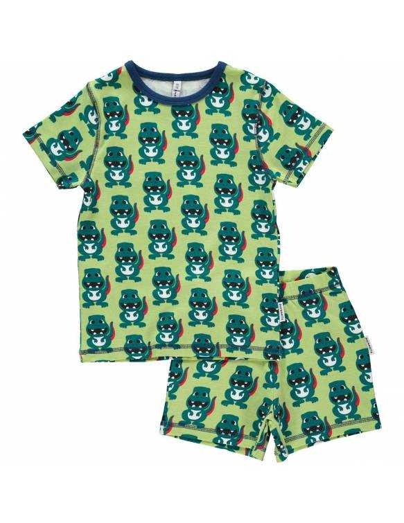 Pijama de algodón orgánico MAXOMORRA - Dino