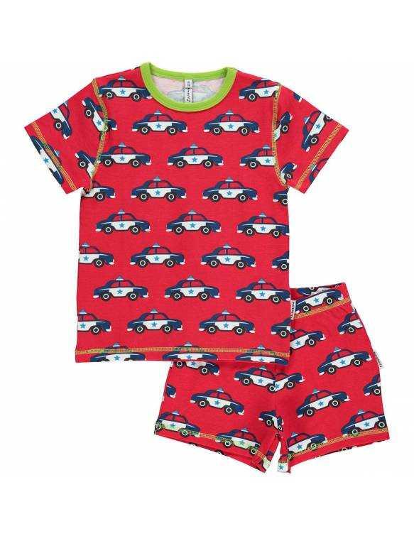 Pijama de algodón orgánico MAXOMORRA - Patrulla