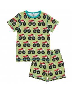 Pijama de algodón orgánico MAXOMORRA - Camión