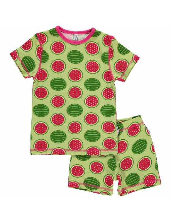 pijama-algodon-organico-maxomorra-sandia
