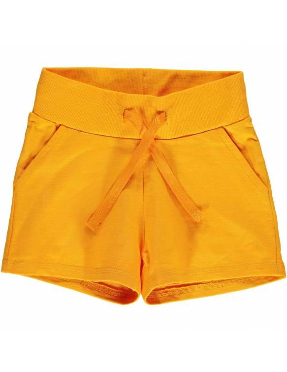 Shorts Orgánicos MAXOMORRA - Básico Naranja