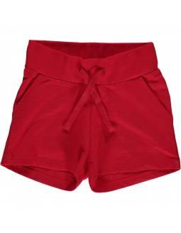 Shorts Orgánicos MAXOMORRA - Básico Rojo