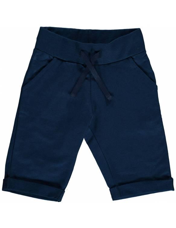Pantalón Corto Orgánico MAXOMORRA - Básico Azul