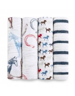 pack-muselinas-bebe-adenanais-de-algodon-wild-horses