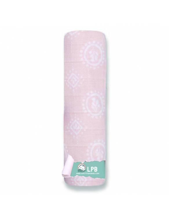 Muselina individual ADEN+ANAIS de algodón - Thistle - Rosa
