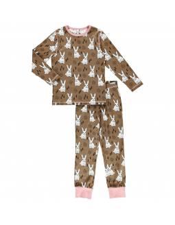 Pijama Orgánico MAXOMORRA - Conejitos