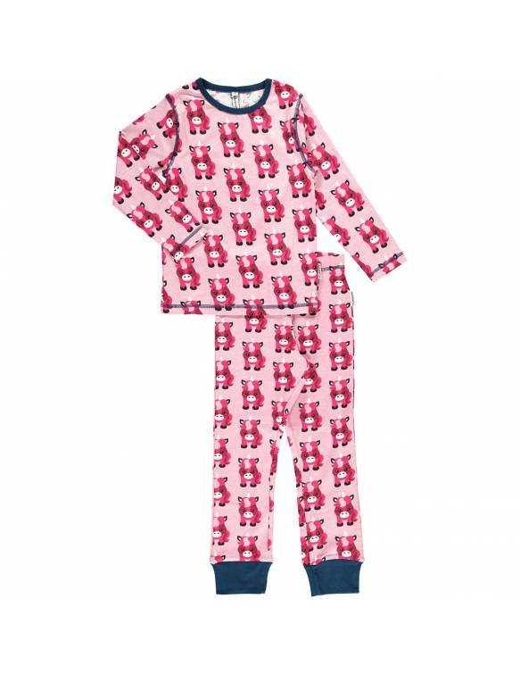 Pijama Orgánico MAXOMORRA - Unicornio