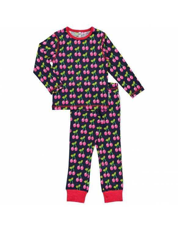 Pijama Orgánico MAXOMORRA - Cereza