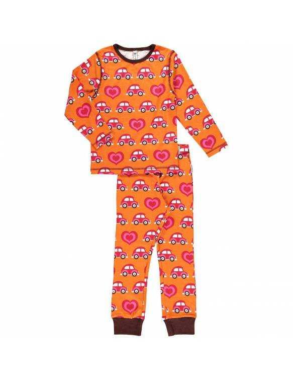 Pijama Orgánico MAXOMORRA - Coches