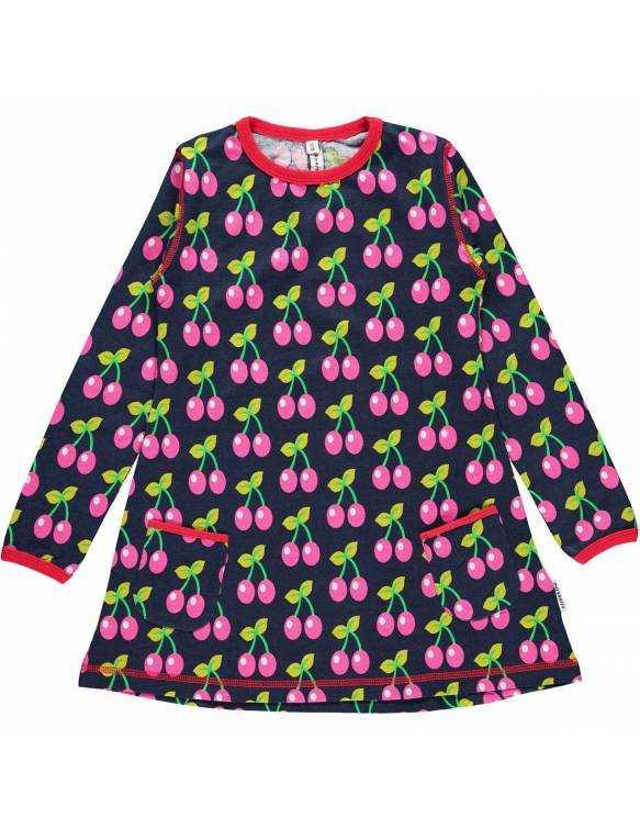 Vestido Orgánico MAXOMORRA - Cerezas