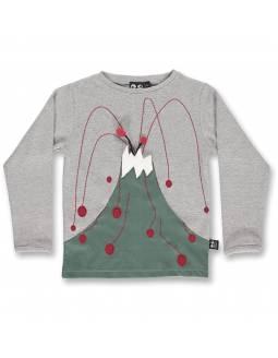 Camiseta Orgánica UBANG - Volcán