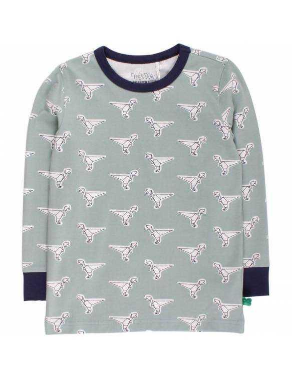 Camiseta Orgánica FRED'S WORLD - Dinosaurio Origami
