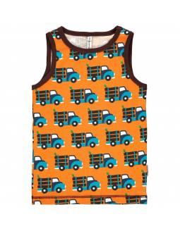 Camiseta Orgánica de Tirantes MAXOMORRA - Camión