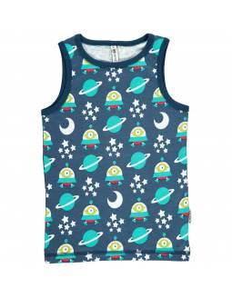 Camiseta Orgánica de Tirantes MAXOMORRA - Nave Espacial
