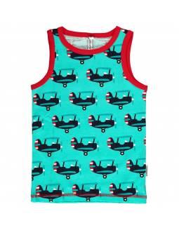 Camiseta Orgánica de Tirantes MAXOMORRA - Avión
