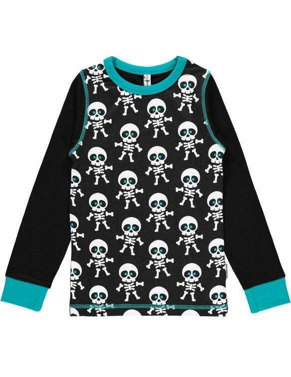 Camiseta Orgánica MAXOMORRA - Esqueleto