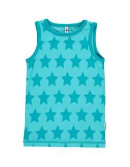 Camiseta Orgánica de Tirantes MAXOMORRA - Estrellas