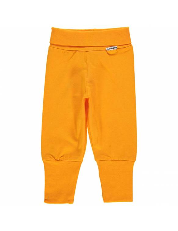 Pantalón Orgánico MAXOMORRA - Básico Naranja