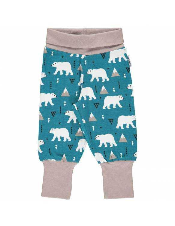 Pantalón Orgánico MAXOMORRA - Oso Polar