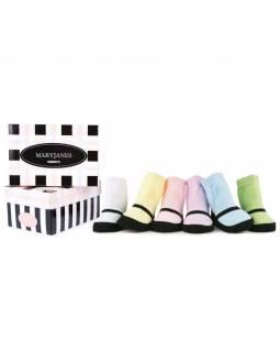 calcetines-original-bebe-trumpette-mary-jane-pastel