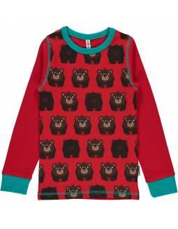 camiseta-bebe-algodon-organico-maxomorra-estampado-oso
