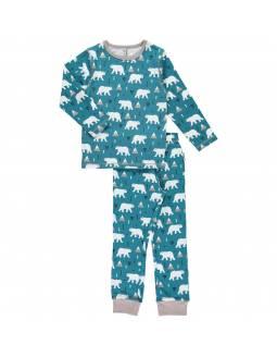 Pijama Orgánico MAXOMORRA - Oso Polar