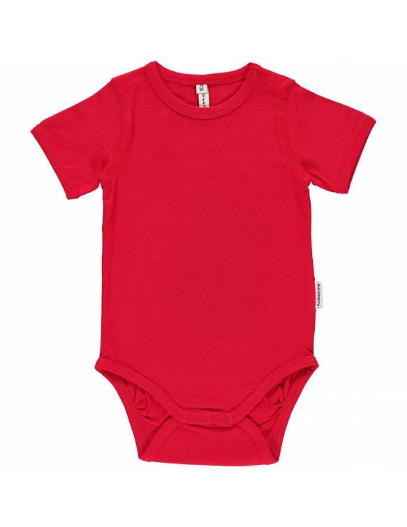 body-algodon-organico-maxomorra-basico-rojo