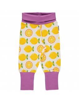 Pantalón Orgánico MAXOMORRA - Limones