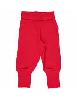 Pantalón Orgánico MAXOMORRA - Básico Rojo