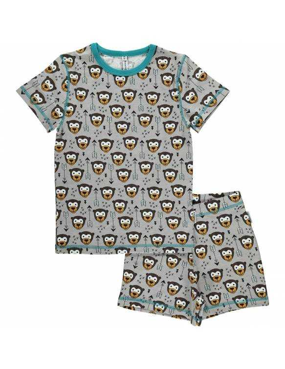 pijama-algodon-organico-maxomorra-monito