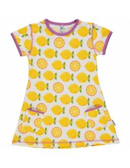 Vestido Orgánico MAXOMORRA - Limones
