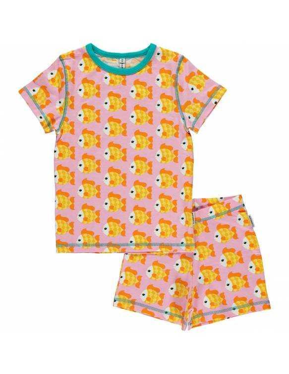 Pijama Orgánico MAXOMORRA - Pececito