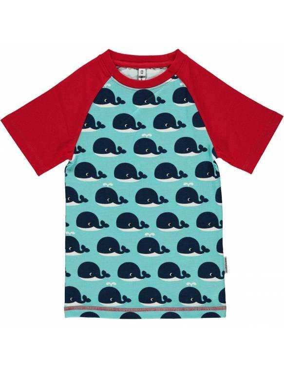 Camiseta Orgánica MAXOMORRA - Ballena